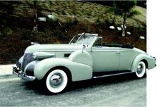 1939 Cadillac Fleetwood Series 75 Convertible Coupe Maintenance of old vehicles: the material for new cogs/casters/gears/pads could be cast polyamide which I (Cast polyamide) can produce
