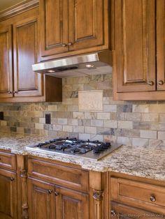 Kitchen Backsplash Ideas - Materials, Designs, and Pictures - http://kitchenideas.tips/kitchen-backsplash-ideas-materials-designs-and-pictures/