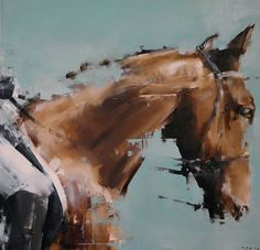"""""""I Fell Beside You Like A Boardwalk Into A Hurricane, The Carousel Spinning Against Its Will, All Of My Horses Galloping Backwards"""" via Matthew Clarke Davis Artworks. Click on the image to see more!"""