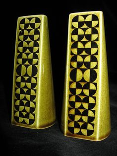 Hornsea Cruet Glass Ceramic, Ceramic Art, Ceramic Design, Vintage Interiors, Vintage Textiles, Hornsea Pottery, Condiment Sets, English Pottery, Vintage Pottery