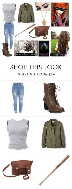 """""""Jennifer - Friday the 13th OC"""" by pastelkittyxx ❤ liked on Polyvore featuring beauty, American Rag Cie, T By Alexander Wang, Velvet by Graham & Spencer, NOVICA, Louisville Slugger and 2028"""