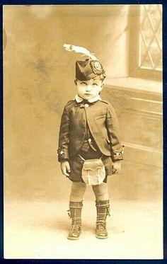 cute vintage Scottish boy :-)