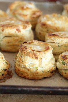 Feta and green onion biscuits - CSMonitor.com
