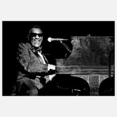 Richard E. Aaron Prints, Posters, Art Prints, aaron richard e ray charles Ray Charles, Music Pics, Music Pictures, Liberal Education, Cinema, Soul Music, Motown, Kinds Of Music, Rock N Roll
