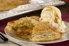 This Amish-style dessert is just what you need after a long day, and you won't even mind making them because this easy apple turnover recipe uses shortcut puff pastry. Served by themselves or with a scoop of delicious ice cream, you can't go wrong with our stress-free Fresh Apple Turnover recipe.