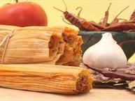 tamales   Need to swap out coconut oil for the lard and use veggie stock instead of chicken broth . Veganize !