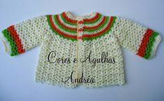 Olá!!   Como vocês já perceberam ando fazendo casaquinhos para bebê e os últimos que fiz foram em trico e me deu uma saudade de fazer em c...