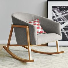 Ryder Rocking Chair - modern - chairs - West Elm