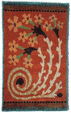 Suomen Käsityön Ystävät Rug Hooking Patterns, Textile Patterns, Textiles, Rya Rug, Wool Rug, Scandinavian Embroidery, Felted Wool Crafts, Art Textile, Weaving Projects
