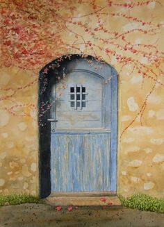 romantic door