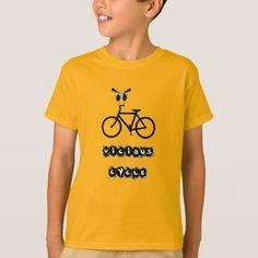 #Vicious cycle T-Shirt - #cool #kids #shirts #child #children #toddler #toddlers #kidsfashion