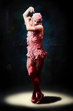 Vaslav Nijinsky in Le Spectre de la Rose 1911