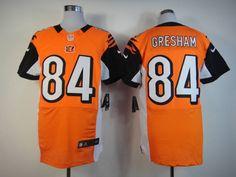 orange Jermaine Gresham Elite jersey, Cincinnati Bengals #84 Nike NFL jersey