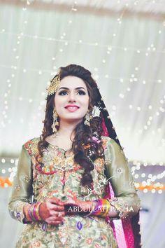 Bridal Mehndi Dresses, Walima Dress, Pakistani Wedding Dresses, Bridal Outfits, Pakistan Bride, Pakistan Wedding, Pakistani Couture, Muslim Brides, Bridal Beauty