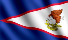 American Samoa Territory Flag Graphic
