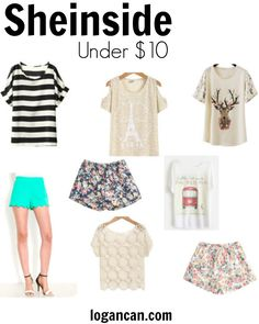 Summer Trends // On A Budget