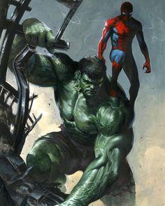 Hulk & Spidey