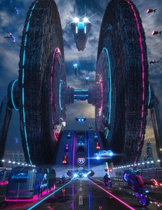 Cyberpunk City, Cyberpunk Aesthetic, Futuristic City, Cyberpunk 2077, Star Wars Characters Pictures, Neon Aesthetic, Matte Painting, Science Fiction Art, Future City