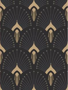 New Art Deco Print Pattern Textile Design Ideas Arte Art Deco, Moda Art Deco, Estilo Art Deco, Art Deco Print, Art Deco Wall Art, Art Deco Decor, Art Prints, Wall Decor, Wallpaper Art Deco