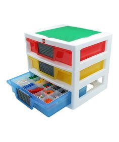 Three-Drawer LEGO Organizer for all the small odd shaped things