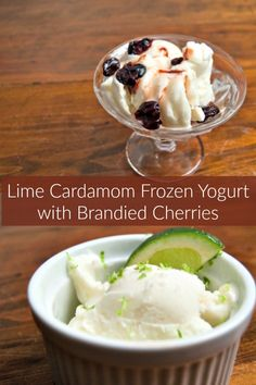 Lime Cardamom Frozen