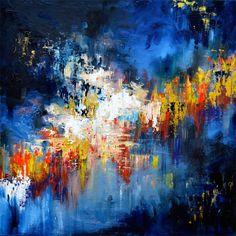 Gravity - John Mayer  MELISSA S MCCRACKEN   synesthetic art