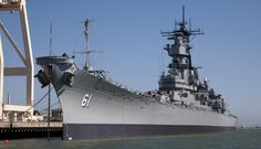 USS Iowa - explore the only battleship museum on the West Coast. #USSIowa #battleship #SanPedro