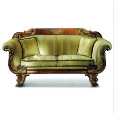 Wooden Hand Carving Sofa #sofas armchairs, seating, furniture design #decorating chaise longue, recliner, dining chairs, sofabed, lounge chairs, upholstery, tufted sofas, #interiordesign chesterfield, welting, sectional sofas