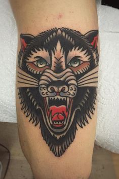 Tatouage tigre en couleur #tatouage #tigre #toulouse #tattoo #tattoos #tiger