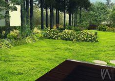 PROJECT // PRIVAT GARDEN 'the forest'    visualisation 'II'  NATURE | SIMPLICITY | ELEGANCE | TIMELESSNESS Landscape Design, Golf Courses, Sidewalk, Garden, Nature, Naturaleza, Landscape Designs, Lawn And Garden, Sidewalks
