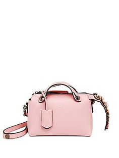 afde8ab54805 Fendi - By The Way Small Crystal-Accented Satchel