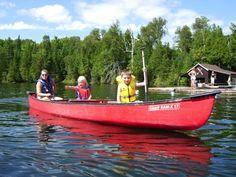 "#pluckypenguin ""Kayaking/Canoeing in Canmore"""