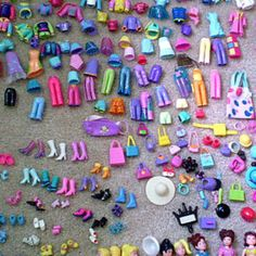 Polly pocket!!!!!!! You had tons of these:-)