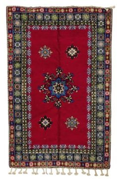 A MOROCCAN CARPET Types Of Carpet, Types Of Rugs, Carpet Runner, Moroccan, Bohemian Rug, Auction, Hallways, Lowes, Runners