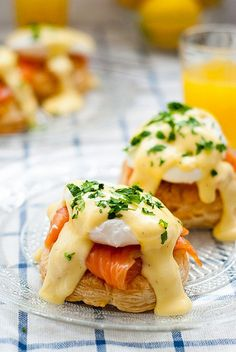 Eggs benedict pastries with smoked salmon recipe..jpg