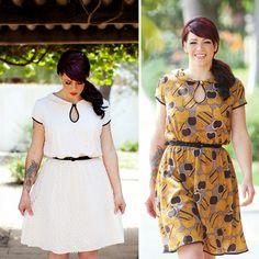 Miz Mozelle Dress Sewing Pattern by Jamie Christina