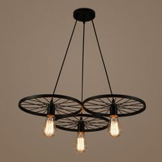 Lampa wisząca RANCH 3