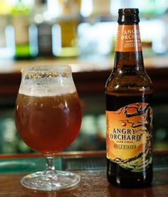 Pumpkin ale and hard cider combine to make the perfect fall cocktail