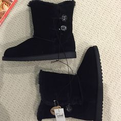 Genuine Suede Boots Never Worn. Fur Lined. Target Shoes Winter & Rain Boots