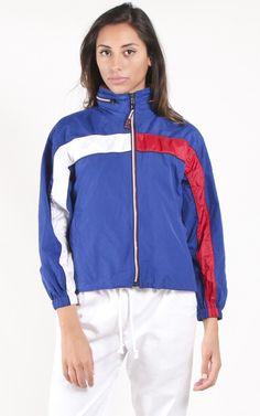 52a67ef42c2 Vintage Tommy Hilfiger Windbreaker Jacket