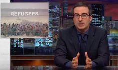 John Oliver called out Mike Huckabee for his wildly inflated scare tactics about Syrian refugees.