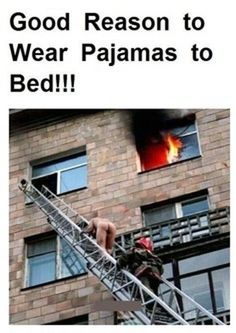 Good Reason To Wear Pyjamas, Click the link to view today's funniest pictures!