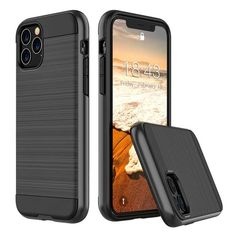 5.8 Pouces OCASE Coque iPhone 11 Pro Coque pour iPhone 11 Pro Fentes pour Cartes Antichoc TPU Housse iPhone 11 Pro Cuir Premium Flip Case Portefeuille Etui Rabat Magn/étique - Bleu B/équille