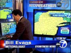 WABC Weatherman Blooper - Bill Evans