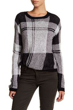 Shrunken Plaid Pullover (Regular & Petite) by Melrose and Market on @nordstrom_rack