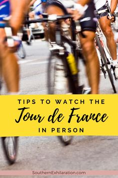 The Tour de France is an annual multiple stage bicycle race held in France. Here are a few tips to make the most of your experience watching the tour live. Tours France, France Europe, France Travel, Paris France, Packing List For Vacation, Vacation Trips, Thanks Boss, Bicycle Race, Adventure Tours