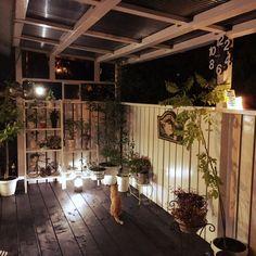 yosirinさんの、部屋全体,観葉植物,DIY,カフェ風,ウッドデッキDIY ,のお部屋写真