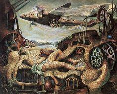 James Gleeson Australian Painters, Australian Artists, Henry Thomas, Art Society, Modern Artists, Fantastic Art, Surreal Art, Surrealism, Contemporary Art