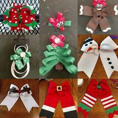 Super lindo Navidad Reno Hairbow por CajunCrafty en Etsy