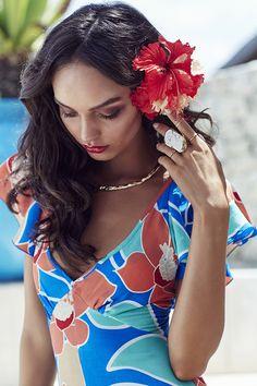 Mister Zimi SS16 Poolside Campaign Shoot, Karma Kendara, Bali | Photographer - Amanda Fordyce | Stylist - Innika Choo | H&MU - Victoria Martin | Model - Luma Grothe